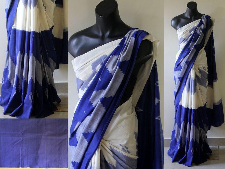 Ikat cotton sarees