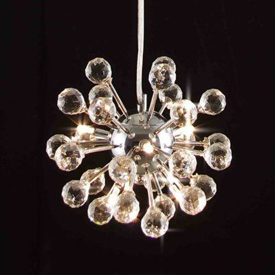 The Gallery Chandeliers White Wrought Iron Chandelier