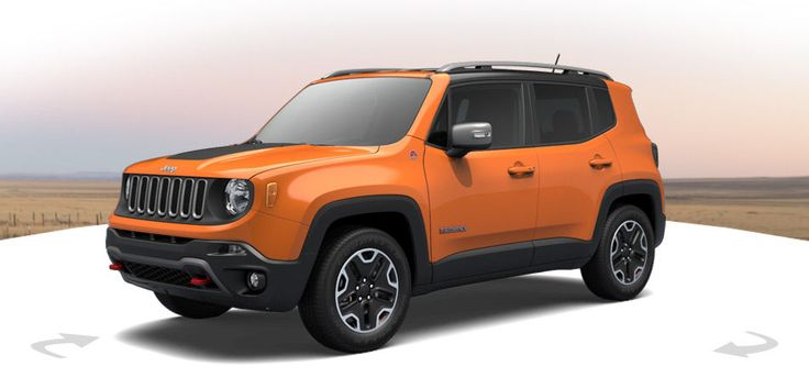 All-new Jeep® Renegade: Sport, Longitude, Limited & Trailhawk Small SUV