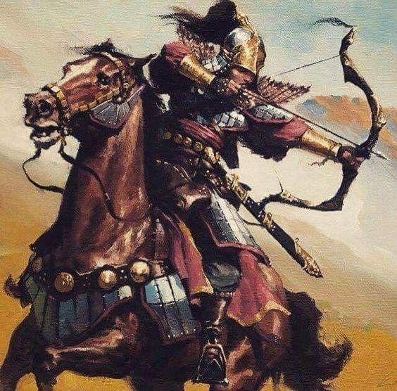 Göktürk... Warrior.