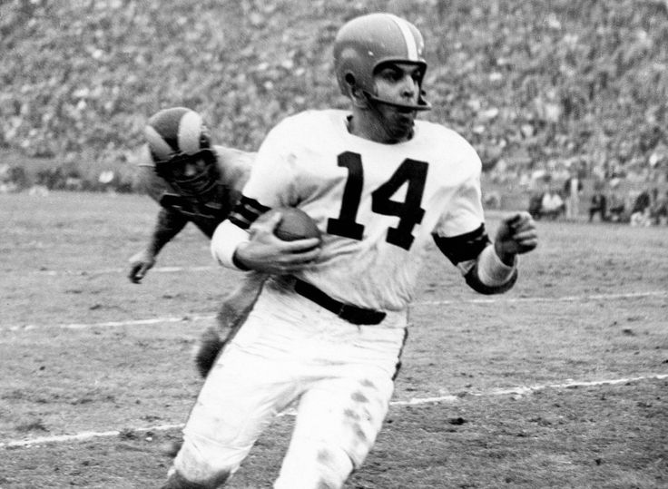 Otto Graham, the most winning quarterback of all time. Won 7 Championships More than any QB ever.