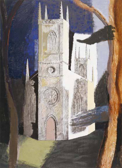 John Piper: Reminds me of an excellent John Piper exhibition we had at the Glyn Viv in Swansea.