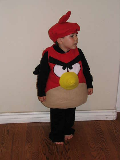 Angry Bird costume - for Wiley. This is the how too and I already have the pattern they used for it!