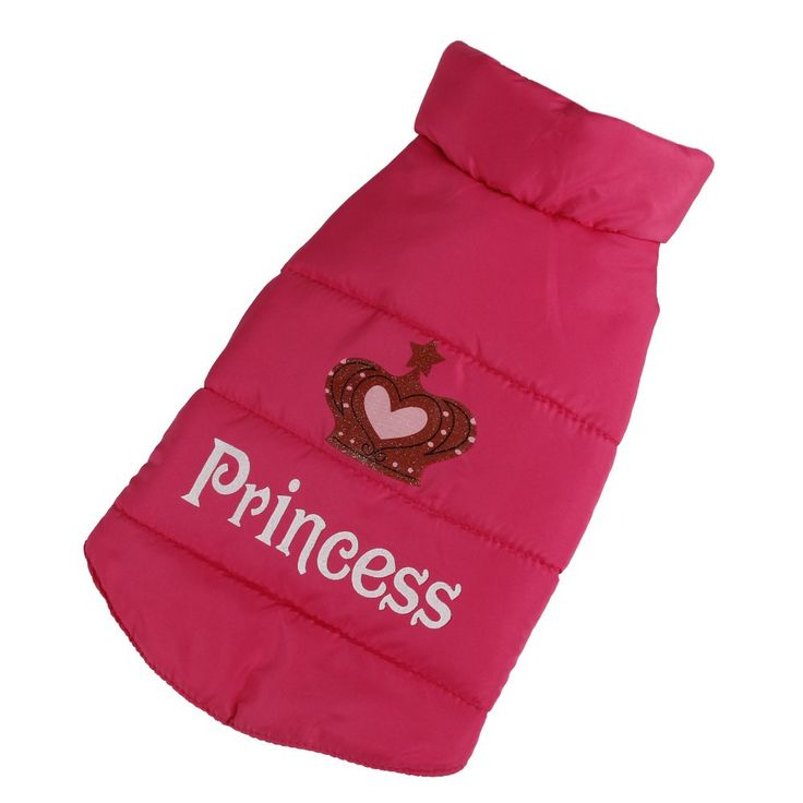 Adorable, warm cotton vest for your little Princess to wear on those chilly days. Easy to put on and take off with Velcro closure. Non-restrictive and perfect for playing outside. Free shipping!