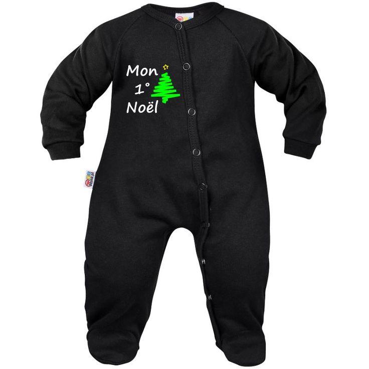 Pyjama bébé : MON 1° NOËL