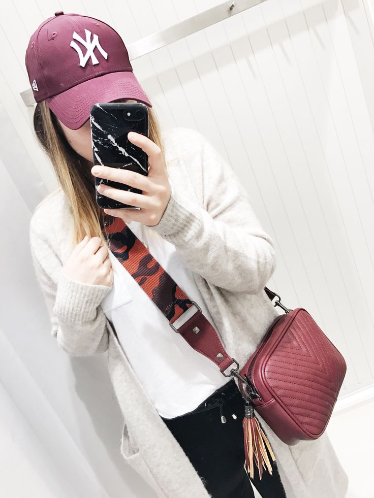 Casual Outfit Statement Strap Cap New Era #OOTD
