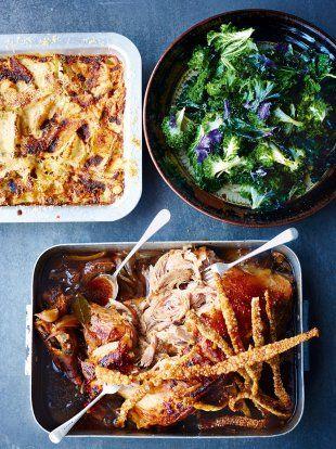 Overnight Roasted Pork Shoulder | Pork Recipes | Jamie Oliver#PZIR2dcKoC2UudZH.97#PZIR2dcKoC2UudZH.97