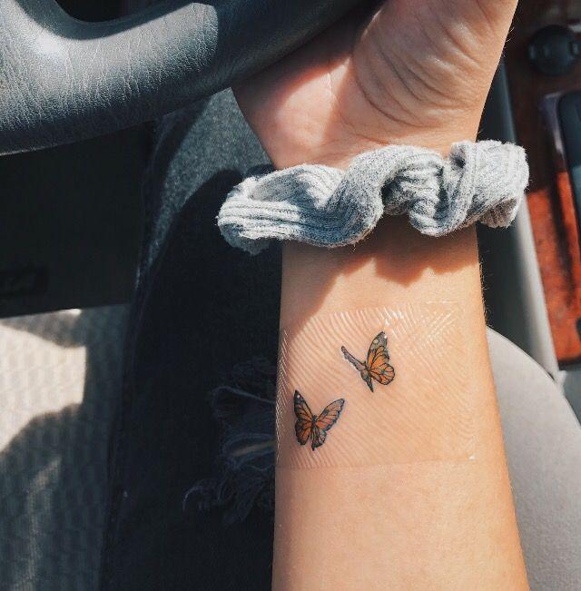 Dainty Tattoos, Tiny Butterfly Tattoo