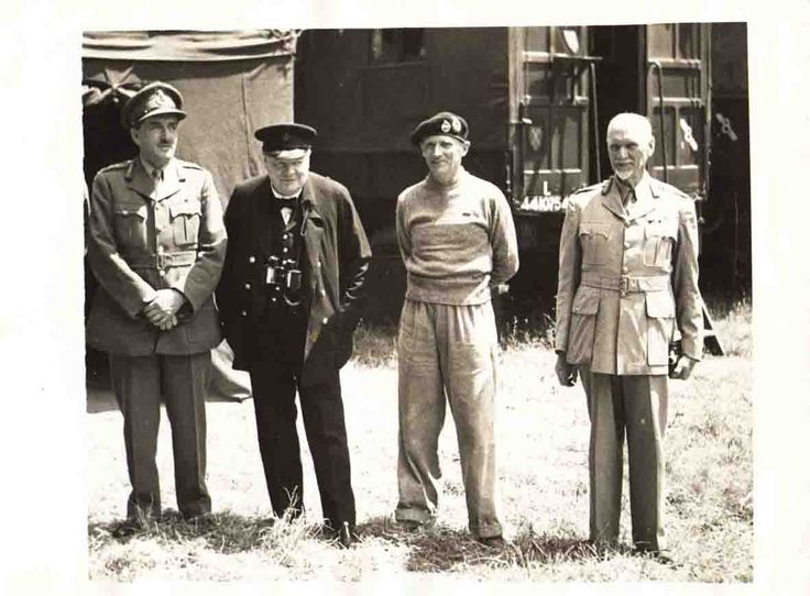 Jan Smuts (right), Prime Minister of South Africa from September 5th 1939 – 4 June 1948. South Africa entered the war on September 6th 1939. This photo was taken in June 1944 with British PM Winston Churchill. http://www.challis.me.uk/id3.html