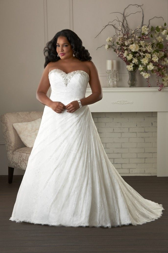 1403 - Unforgettable Plus Size Collections | Bonny Bridal Wedding Gown