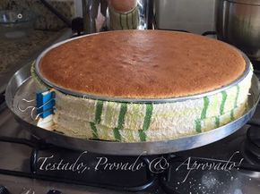 DICA PRECIOSA! Como assar bolos perfeitamente retos, sem calombos! | Testado, Provado e Aprovado! | Bloglovin'