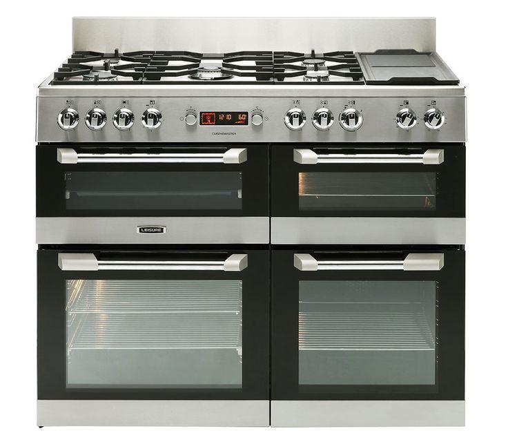 Leisure CuisineMaster Dual Fuel Range cooker Stainless Steel CS110F722X 110cm