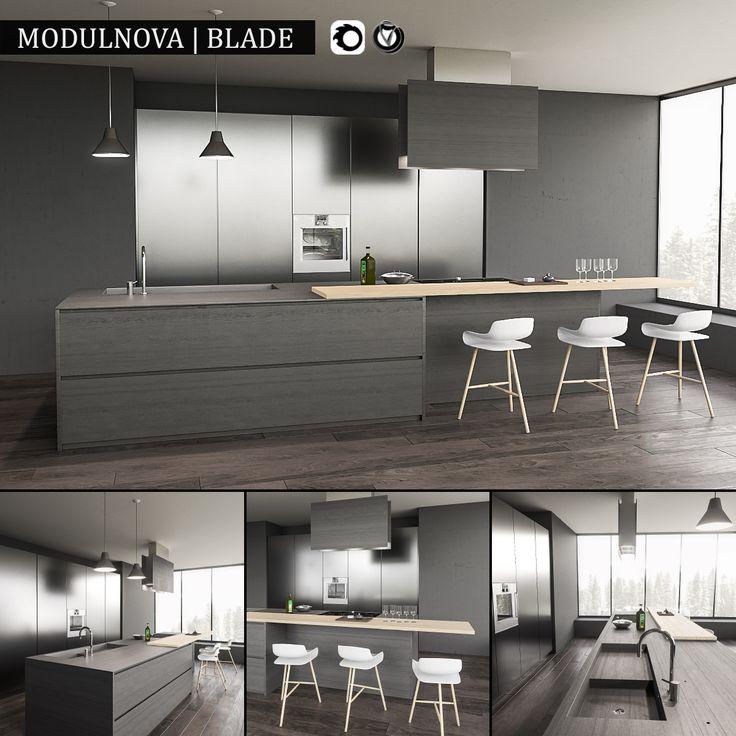 Kitchen Blade   3D Model