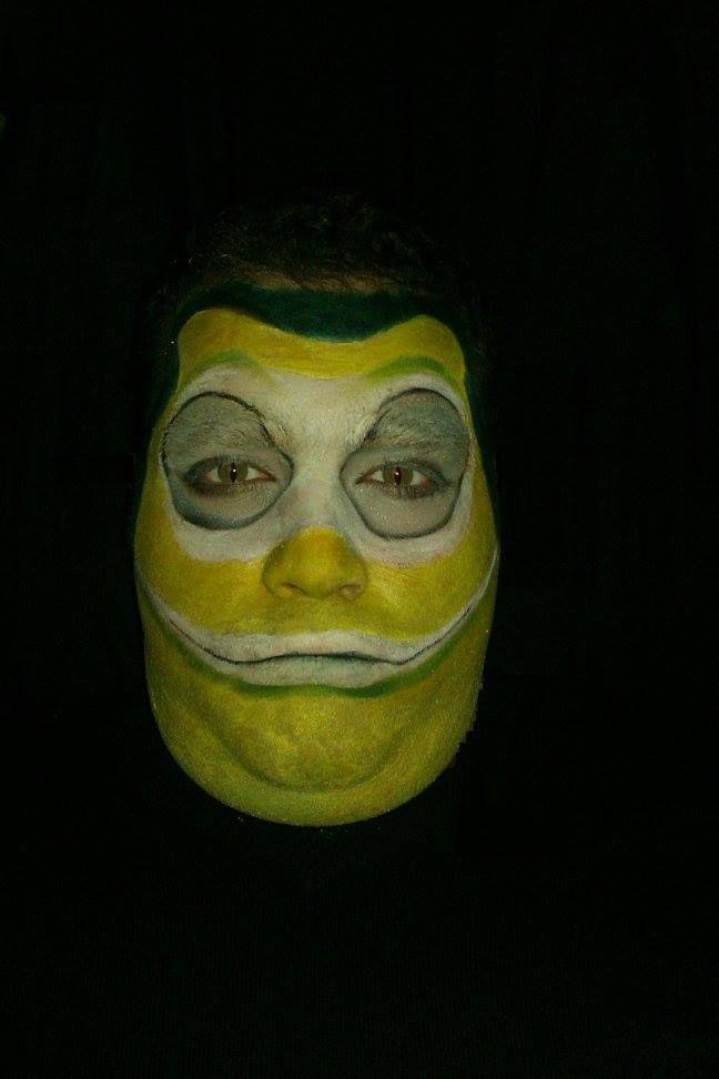 frog makeup