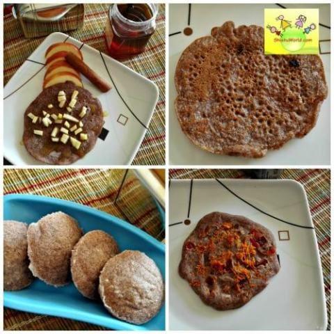 Wholegrain breakfast options for kids