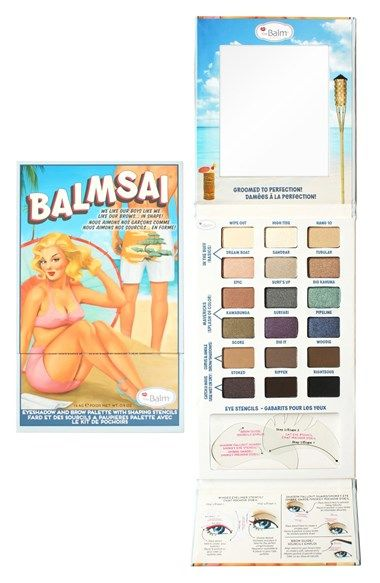 theBalm® theBalm 'Balmsai®' Eyeshadow & Brow Palette available at #Nordstrom