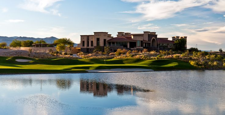 Clubhouse At The Las Vegas Paiute Golf Resort