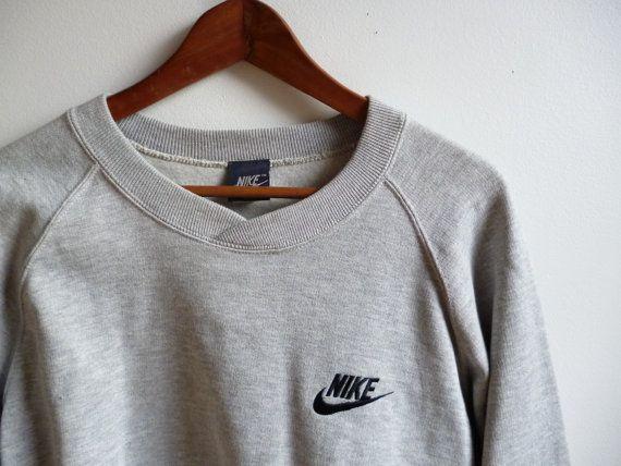 vintage nos nike sweatshirt with tags mens medium. Black Bedroom Furniture Sets. Home Design Ideas