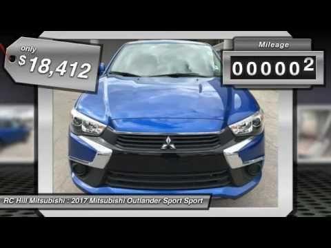 2017 Mitsubishi Outlander Sport DeLand Daytona Orlando N8546