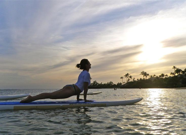 Sunset Stand Up Paddleboard Sup Yoga Classes Are Back