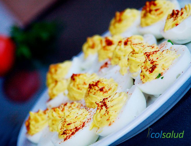 Huevos Rellenos a la Diabla - Un magnifico aperitivo para estas fiestas!