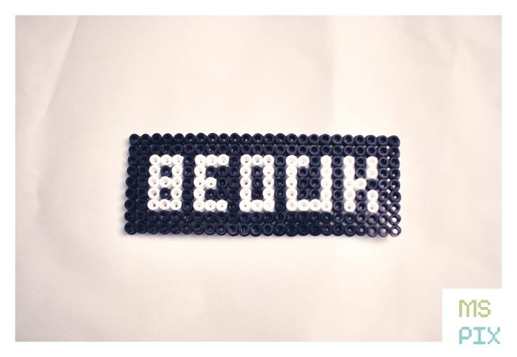 Bedük - Overload  http://www.mspix.me/beduk-3/    *Necklace or key ring