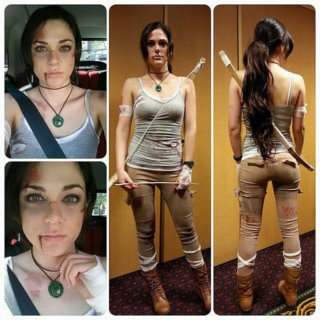 Lara Croft From Rise of the Tomb Raider costume  #cosplay #videogames
