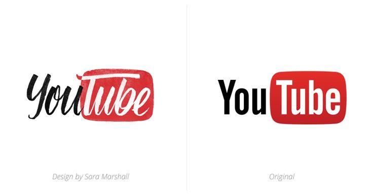 YouTube logo | Typ | Pinterest | Youtube logo and Logos
