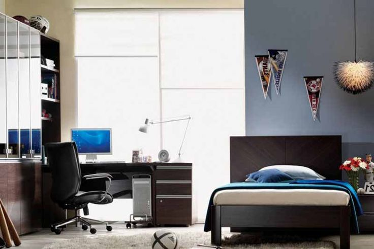 Bedroom office combo design ideas interior designing for Bedroom office combo