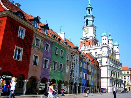 Colourful Poznan, Poland
