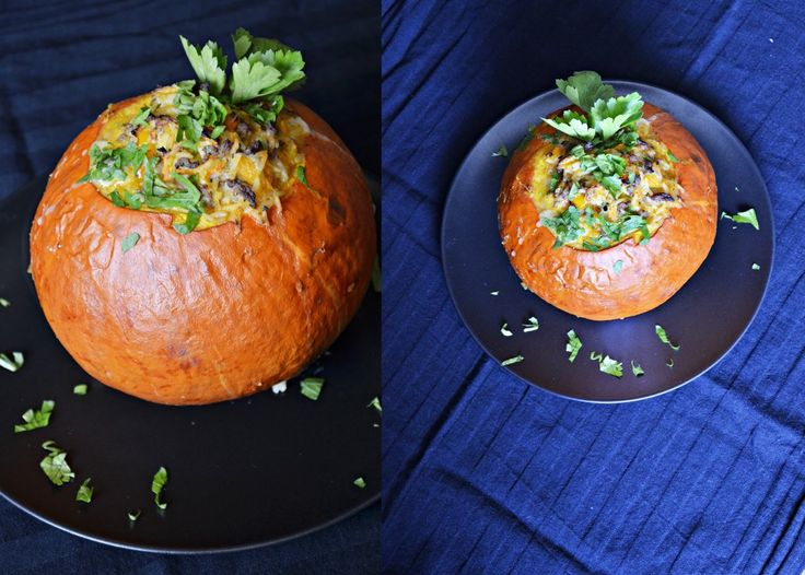 filled pumpkin  recipe on my blog