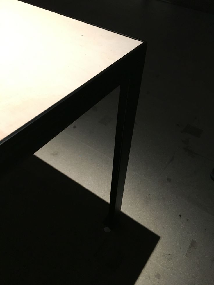 Table and shadow