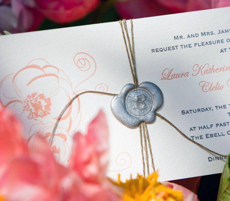Best Wedding Invitations: 30 Best Wax Seal Embellishments Images On Pinterest