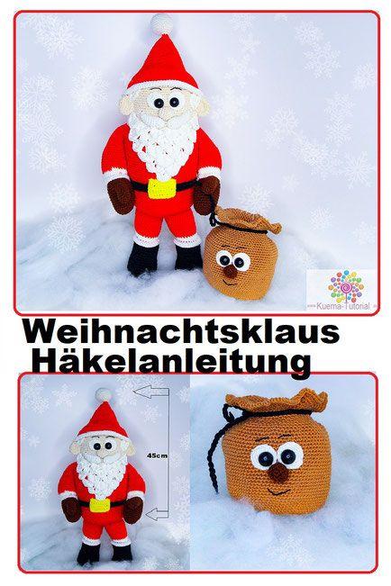 Weihnachtsklaus Der Großer Flauschige Weihnachtsmann