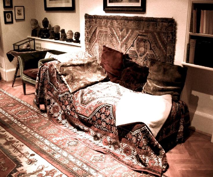 El diván de Sigmund Freud.