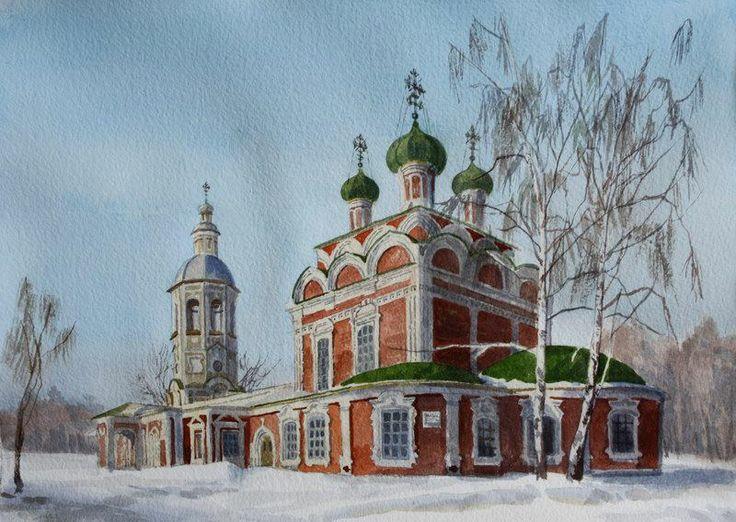 Осташков. Троицкий собор.