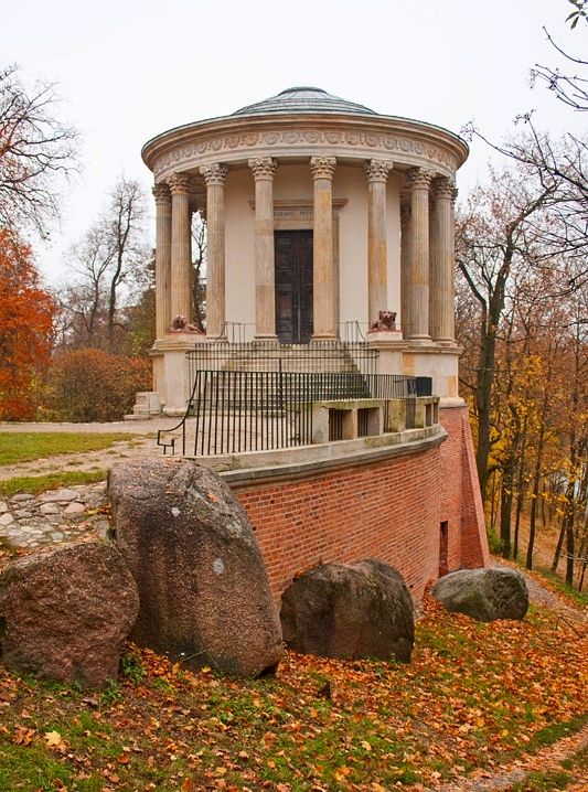 Temple of the Sibyl in Puławy was built between 1798-1801 by Chrystian Piotr Aigner as a museum for Izabela Czartoryska