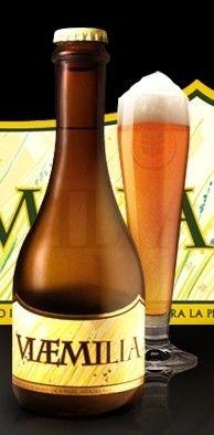 Cerveja Del Ducato VIÆMILIA (Via Emilia), estilo German Pilsner, produzida por Birrificio del Ducato , Itália. 5% ABV de álcool.