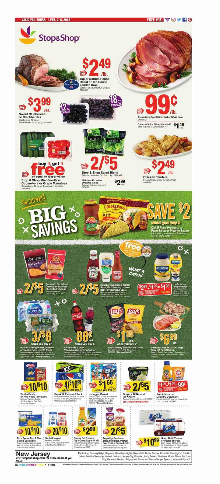 Stop and Shop Circular February 2 - 8, 2018 - http://www.olcatalog.com/grocery/stop-and-shop-circular.html
