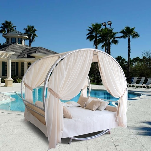 Outdoor Canopy Bed 59 best outdoor canopy bed images on pinterest   outdoor decor