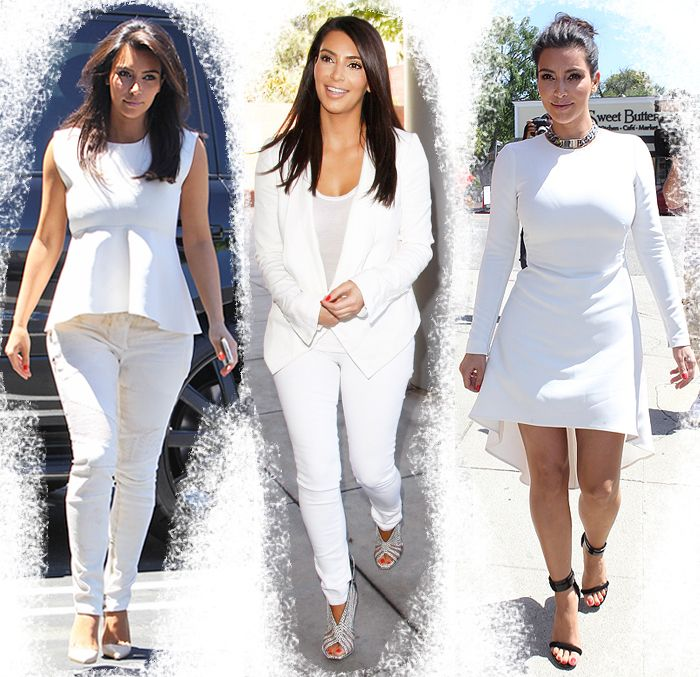 All White Party Dresses Celebrity