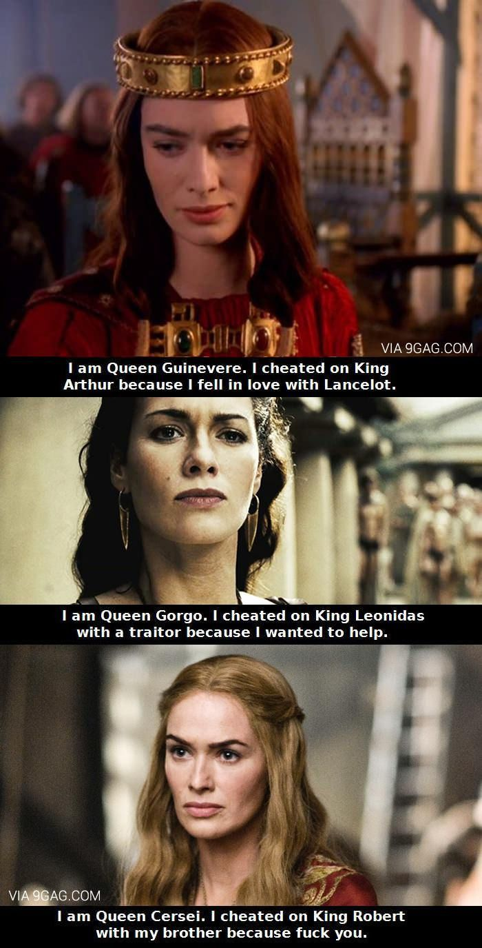 Well done Lena Headey... Well done!