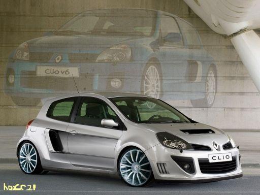 new Renault Clio V6