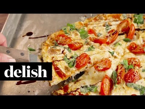 Best Cauliflower Crust Pizza Recipe - How to Make Cauliflower Crust Pizza