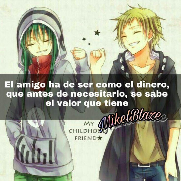 Frases anime, amistad