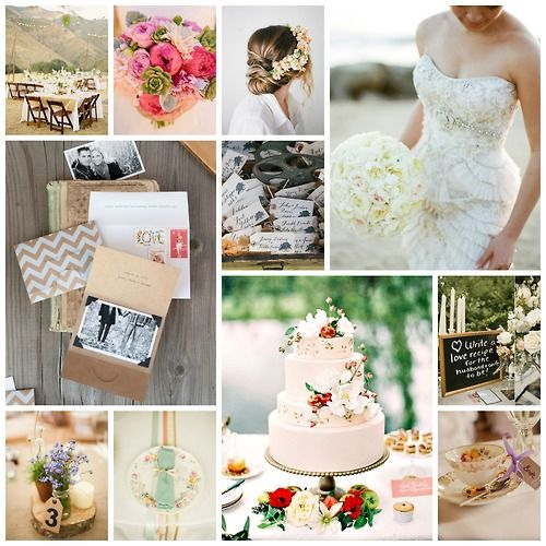 Dreamy, romantic wedding ideas