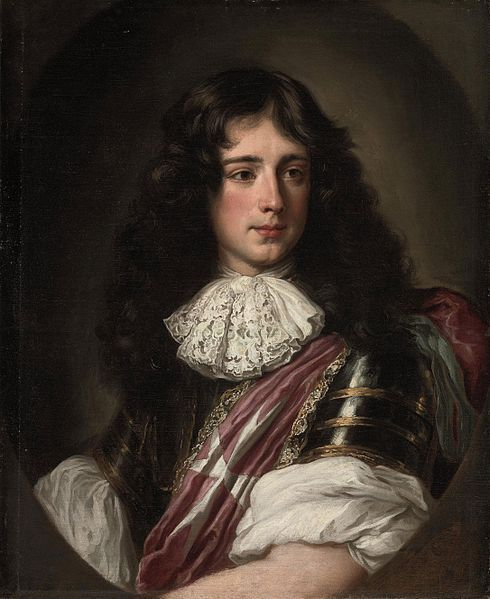 Portrait of Philippe, Duc de Vendôme, Grand Prior of the Knights of Malta in France, painted by Jacob Ferdinand Voet, who lived 1639-1689.