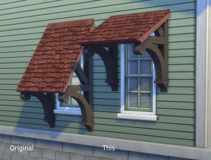 Mod The Sims - Fiddler's Awning: Daylight Edition