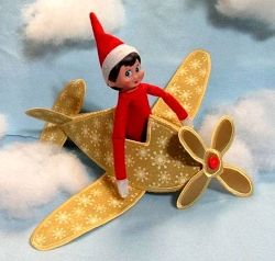 Elf Airplane In The Hoop 5 Sizes Whats New Machi Trucks