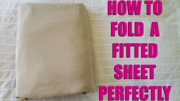 """How to fold a fitted sheet perfectly (and easily) This video is rambly at the start but if you skip to 1 minute in you'll see step by step how to fold a fitted sheet without getting frustrated. There's a simple trick with the corners that makes such a big difference! Much easier than those """"roll it like a burrito"""" methods going around at the moment - no one has time for that! Only thing I would do different is use a bed instead of the floor but if your floor is clean, this is no problem…"""